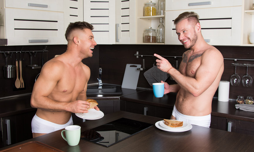 Gay Breakfast Photo by VladOrlov Shutterstock - Как PrEP изменил жизнь геев